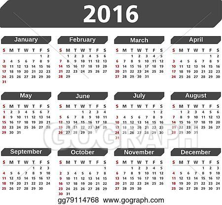 календарь 2016 на русском языке картинки