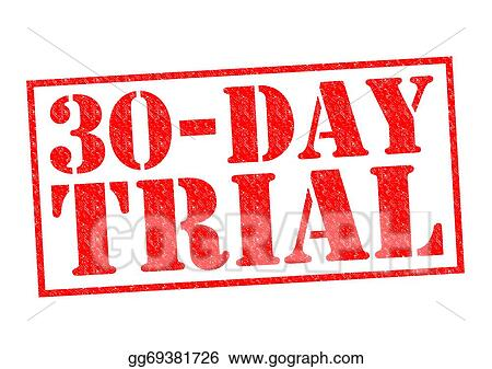 drawing 30 day free trial clipart drawing gg69381726 gograph
