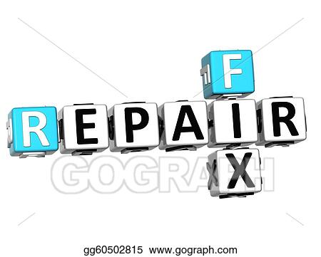 3D Free Fix and Repair Need Crossword