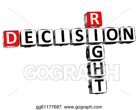 3D Right Decision Crossword