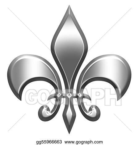 Fleur De Lis Stock Illustrations - Royalty Free - GoGraph