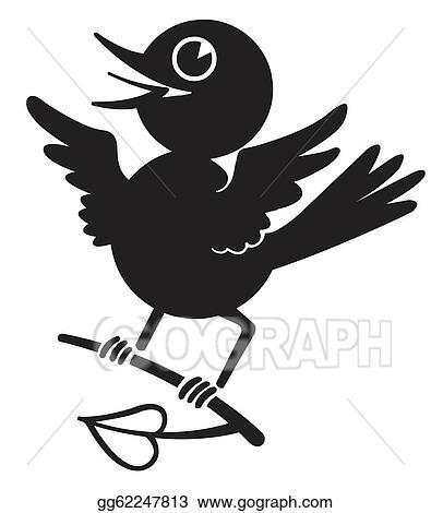 Free Flying Little Bird Clipart ImageIllustoon