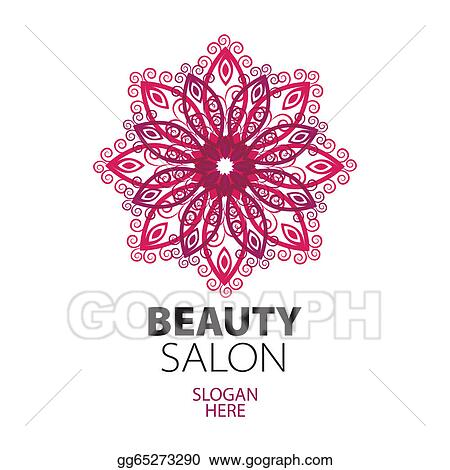 Clip art abstract logo lace for beauty salon stock for Abstract beauty salon