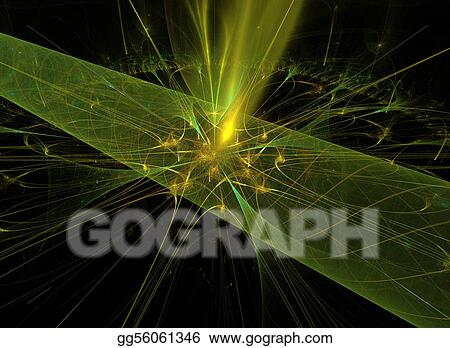 Abstract nature, green background for creative design