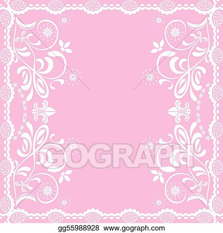 Abstract pink feminine background