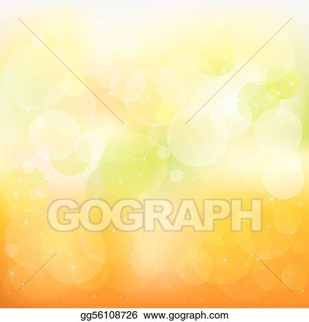 Abstract Vector Orange And Yellow Background