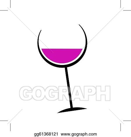 Abstract Wine Glass For Your Design Gg61368121 on wine cart ideas