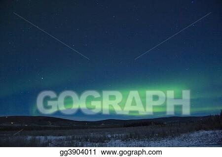 Active low aurora