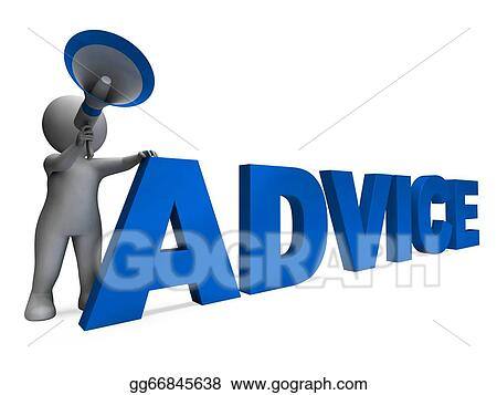 Clipart - Advice character meaning guiding councelling ...