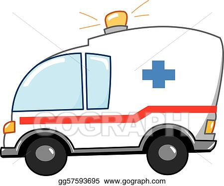 Ambulance clipart  Ambulance Clip Art - Royalty Free - GoGraph