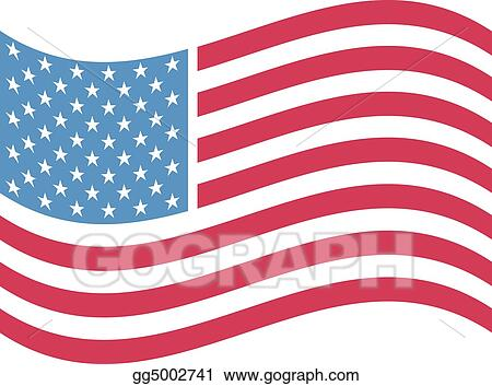 American flag clip art