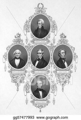 American presidents from 1829 to 1849