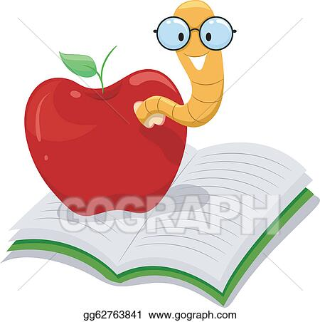 Clip Art Bookworm Clipart bookworm clip art royalty free gograph the apple bookworm