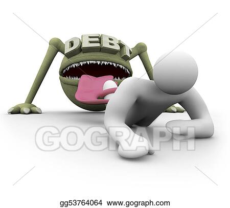 Attacked by the Debt Monster