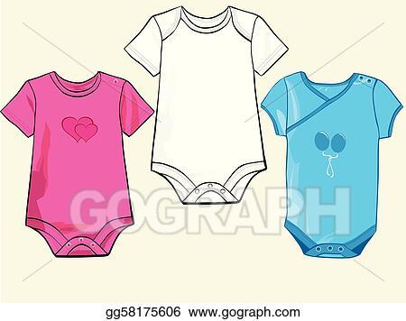 Baby Onesie Clipart