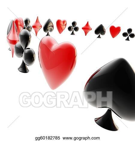 Playing Card Suit Templates http://www.gograph.com/illustration/background-made-of-playing-card-suits-gg60182785.html