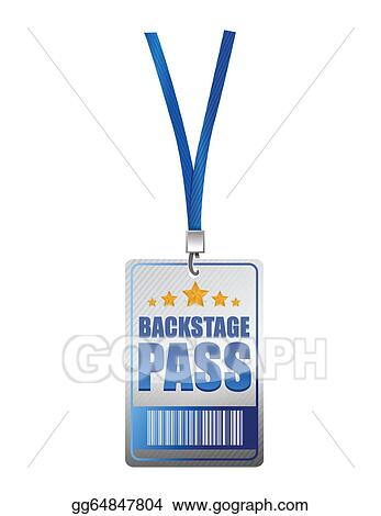 Clipart - Backstage pass vip illustration design. Stock ...