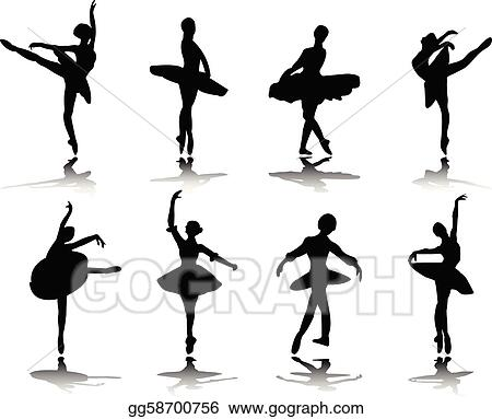 ballerinas with reflection