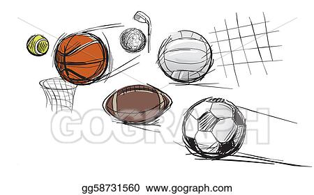 Multi Sports Clipart Images & Pictures - Becuo