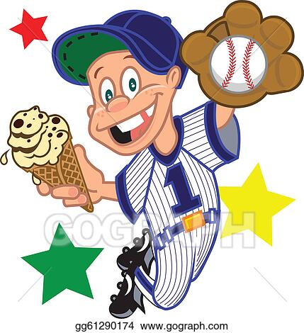 baseball kid cone