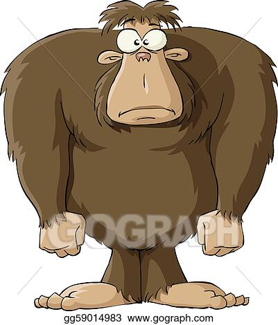 Yeti Clip Art http://www.gograph.com/illustration/bigfoot-gg59014983.html