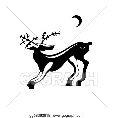 Funny Rabbits Silhouettes Your Design 60182377 also Stock Vector Cartoon Roasted Chicken furthermore 437764026259743011 additionally Silhouette Tinkerbell further Hand print silhouette. on deer shadow clip art