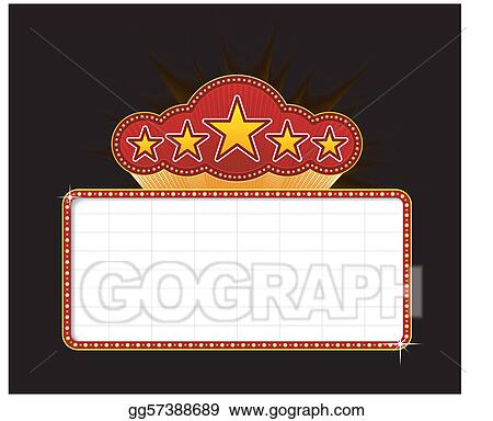 Marquee Clip Art - Royalty Free - GoGraph