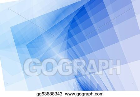 Blue Clean Simple Abstract Background