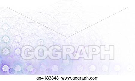 Border/Business Graphic - Purple Corner fading