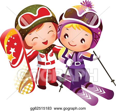 Girl Ski Clipart Images & Pictures - Becuo