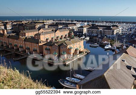 brighton marina england seaside