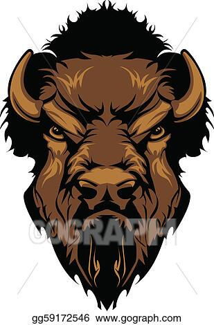 Bison mascot clipart - photo#20