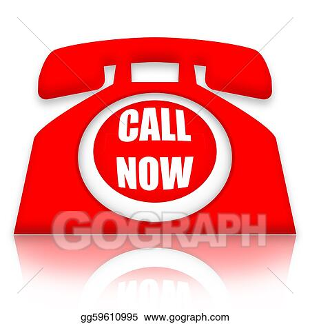 Drawings Call Now Stock Illustration Gg59610995 Gograph