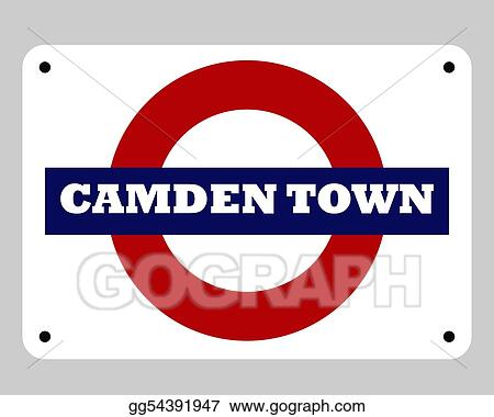 Camden Town Tube sign