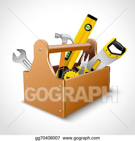 Toolbox Clip Art - Royalty Free - GoGraph