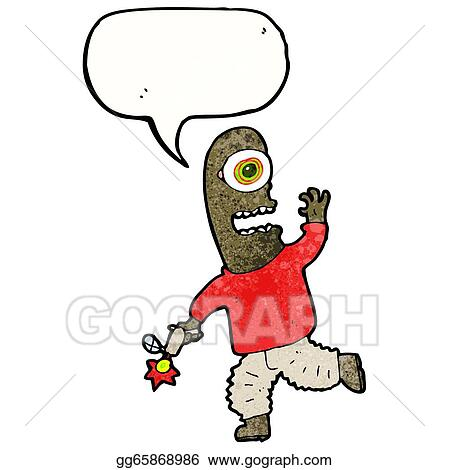 Stock illustration cartoon alien spaceman stock art illustrations