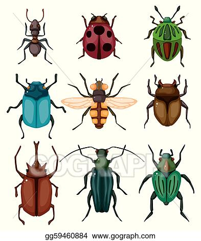 Clip Art Insect cartoon insect bug icon