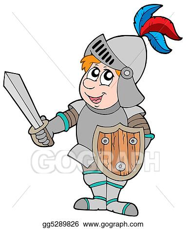 Cartoon knight