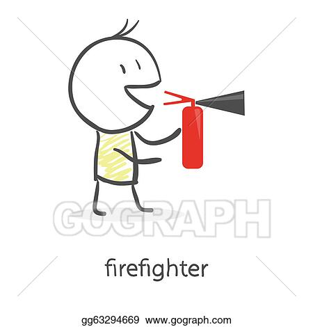 Coloring Page Firefighter I10960 besides Cartoon Man Holding A Fire Extinguisher Gg63294669 together with Firemen Coloring Pages 2 further  in addition Barbecue Party Logo 601735184. on fire extinguish