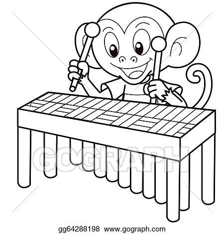Spielen ein Vibraphon