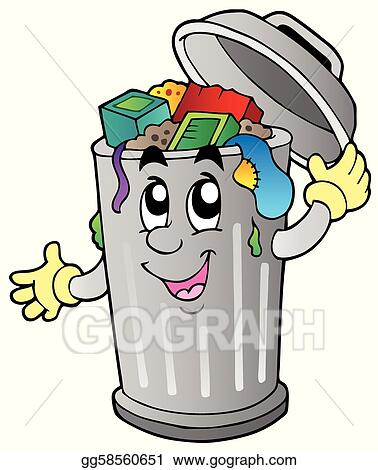 Clip Art Trash Clip Art trash clip art royalty free gograph cartoon can