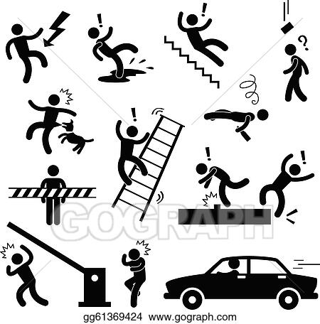 Work Injury Clipart Caution safety danger accident