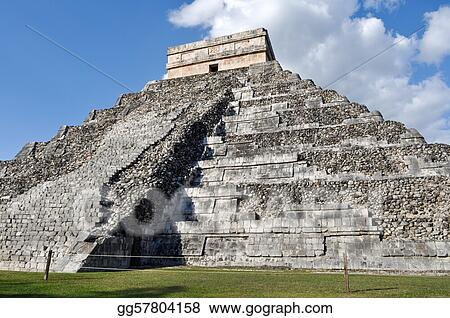 Chichen Itza Ancient Ruins in Mexico are a popular tourist destination