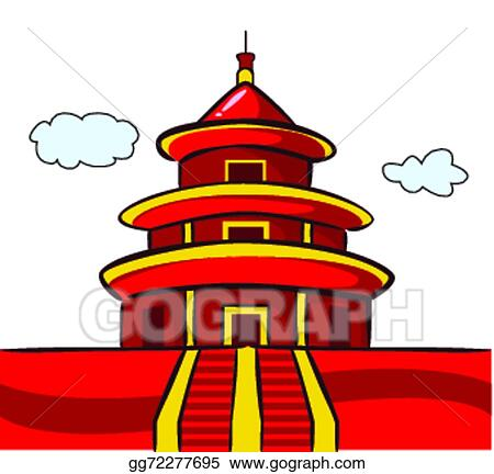 Asian Temple Clip Art Cliparts