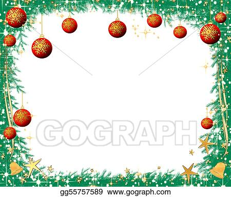 Christmas Tree Borders Clip Art Images & Pictures - Becuo