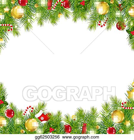 christmas clipart page borders