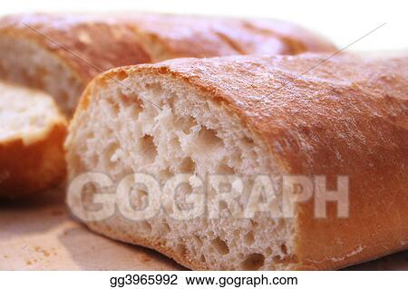 Ciabatta close up