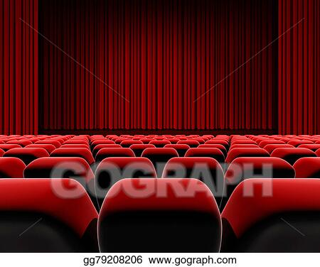 Top 60 Movie Theater Seat Clip Art Vector Graphics and