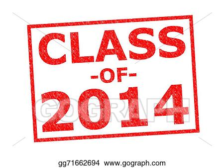 Stock Illustration - Class of 2014. Clipart Illustrations ... Class Of 2014 Clipart