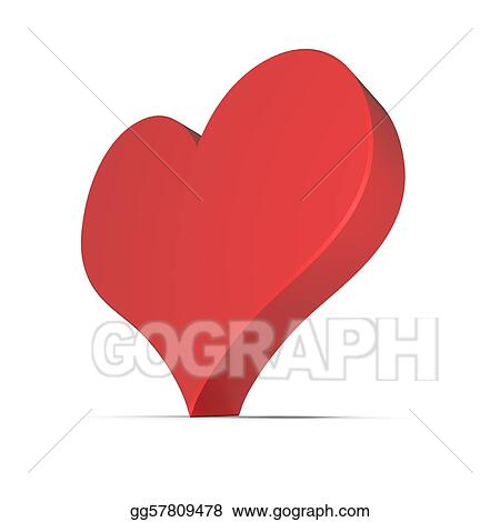 Club Card Sign - Hearts